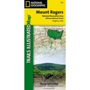 Mount Rogers National Recreation Area from Virginia Maps Store