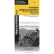 Covington / Alleghany Highlands, G.W. & Jefferson National Forests from Virginia Maps Store