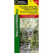 Goat Rocks & Norse Peak Wilderness Area, Gifford-Pinchot & Okanogan-Wenatchee National Forests from Washington Maps Store