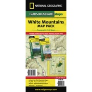 White Mountains National Forest Map Pack Bundle from New Hampshire Maps Store