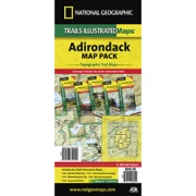Adirondack Park Map Pack Bundle from New York Maps Store