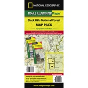 Black Hills National Forest Map Pack Bundle from South Dakota Maps Store
