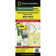 Yellowstone/Grand Teton National Park Map Pack Bundle from Wyoming Maps Store