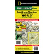 Great Smoky Mountains National Park Map Pack Bundle from Tennessee Maps Store