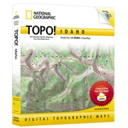 TOPO! Idaho from Idaho Maps Store
