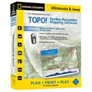 TOPO! Minnesota, Iowa in Iowa Map Store