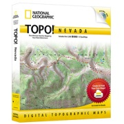 TOPO! Nevada from Nevada Maps Store