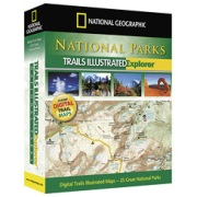 National Parks Explorer from North Dakota Maps Store