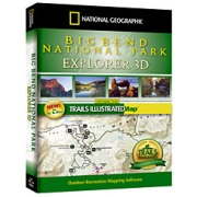 Big Bend National Park Explorer from Texas Maps Store