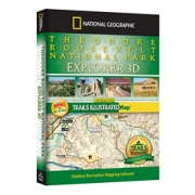 Theodore Roosevelt National Park Explorer from South Dakota Maps Store