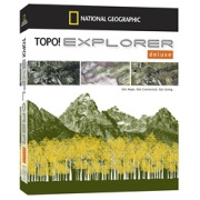 TOPO! Explorer Deluxe from Alabama Maps Store