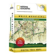 White Mountains Trails Illustrated Explorer from New Hampshire Maps Store