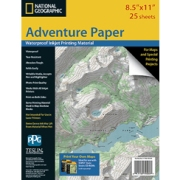 Adventure Paper Letter from Indiana Maps Store