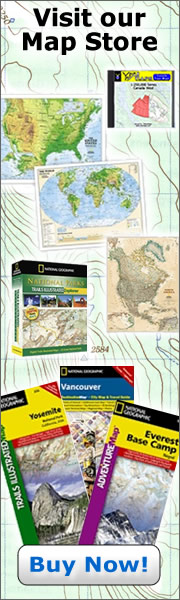Map Store - National Geographic Maps Licensed Retailer