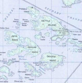 topo map of Broken Group