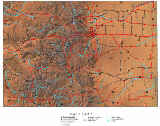 Interactive Colorado map