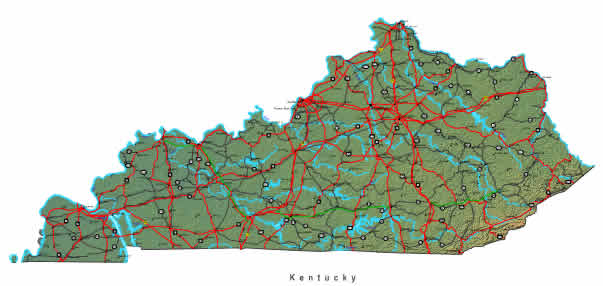 Interactive Kentucky map