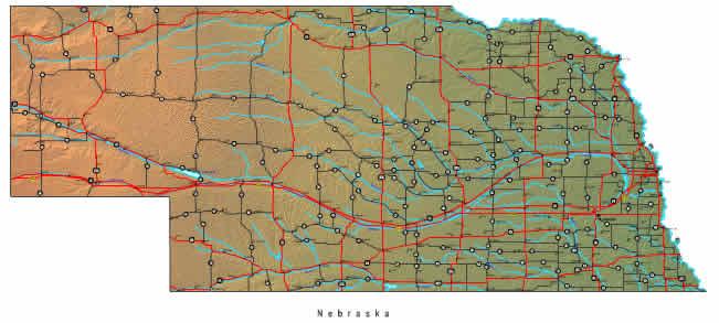 Interactive Nebraska map