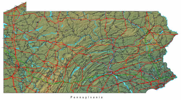 map of pennsylvania state. A zoomable online map of Pennsylvania State. Interactive map of Pennsylvania