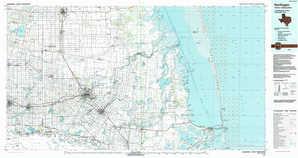 Harlingen topographical map