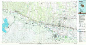 Mc Allen topographical map