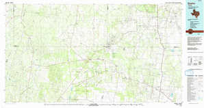 Encino topographical map