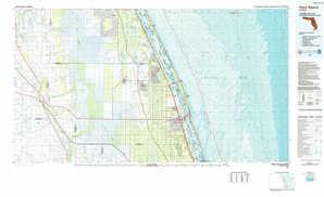Vero Beach topographical map