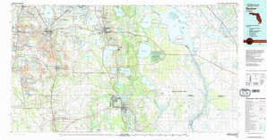 Bartow topographical map