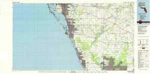 Sarasota topographical map