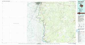 San Ygnacio topographical map