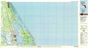 Titusville topographical map