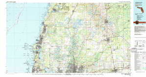 Tarpon Springs topographical map