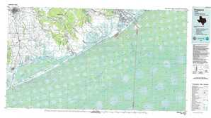 Freeport topographical map