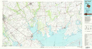 Port Lavaca topographical map