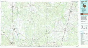 Crystal City topographical map