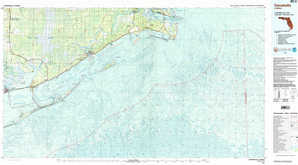 Carrabelle topographical map