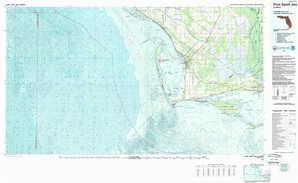 Port Saint Joe topographical map