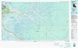 Black Bay topographical map