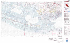 White Lake topographical map