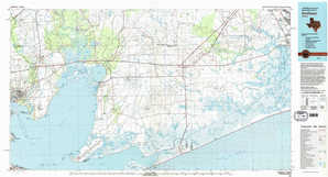 Anahuac topographical map