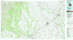 El Campo topographical map
