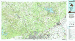 New Braunfels topographical map