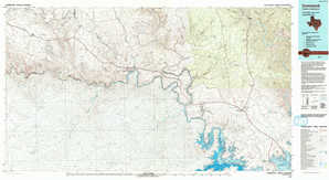 Comstock topographical map