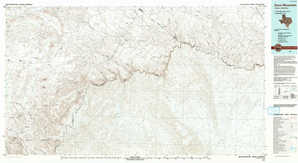 Dove Mountain topographical map