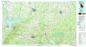 Bainbridge topographical map