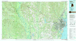 Mobile topographical map
