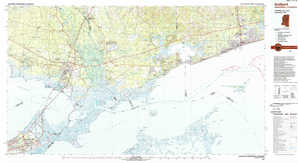 Gulfport topographical map