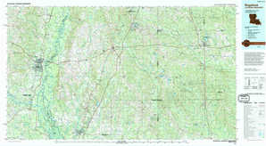 Bogalusa topographical map
