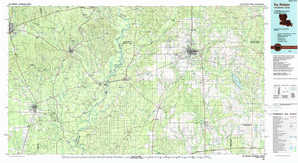De Ridder topographical map