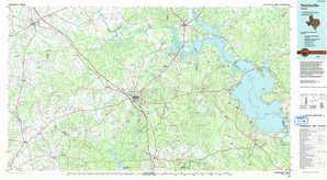 Huntsville topographical map